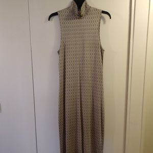 BANANA REPUBLIC VINTAGE SILK DRESS EUC